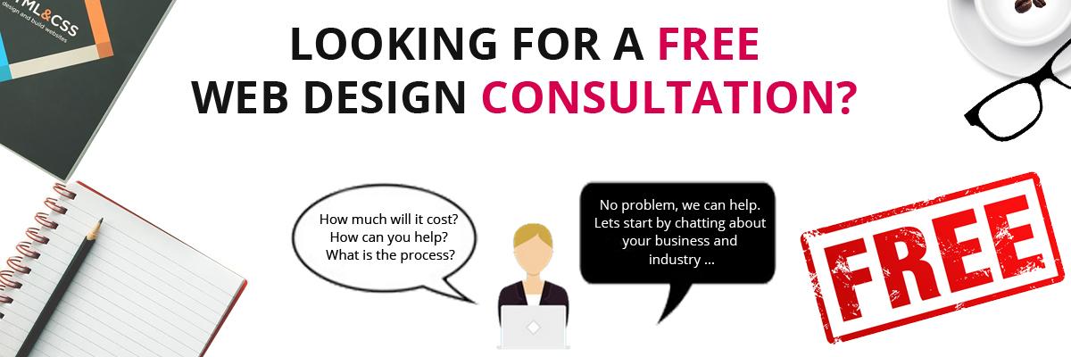 free website design cost