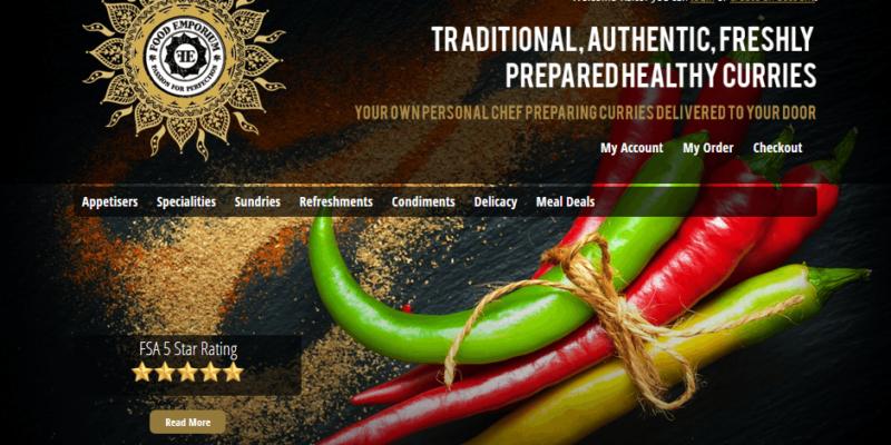 Food Emporium Web Design