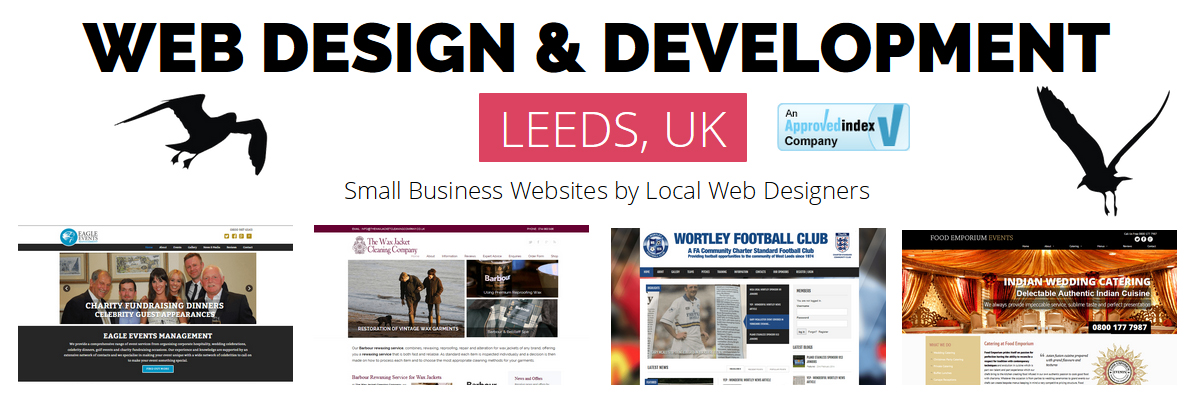 cheap web design leeds