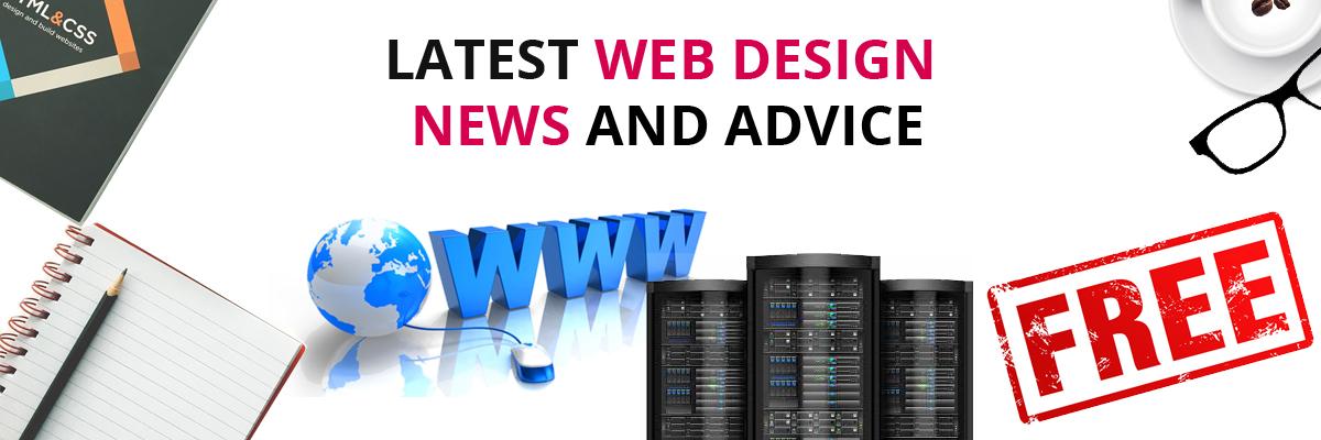 latest web design news