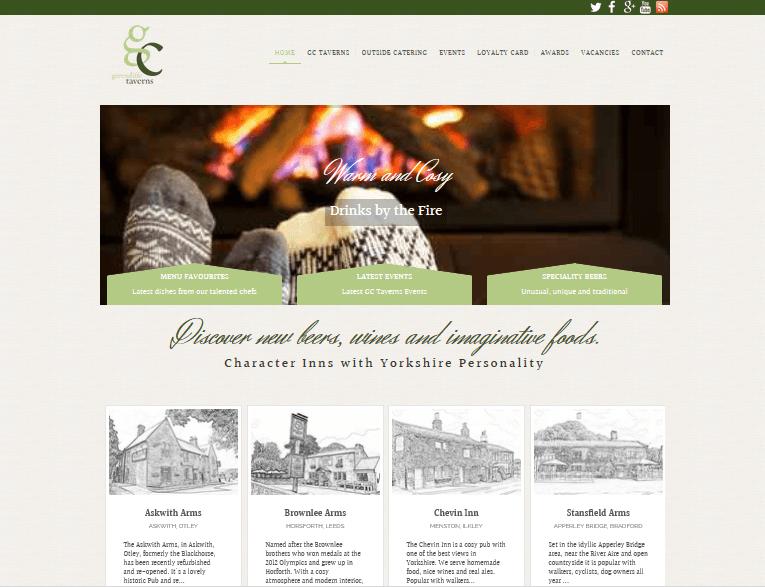 pub web design service
