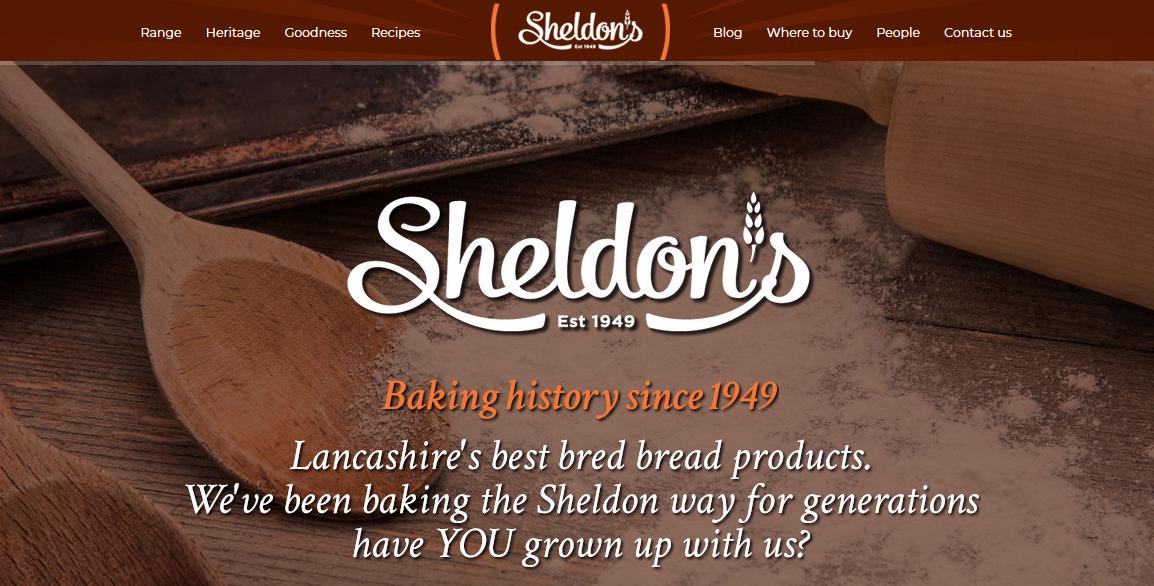 web sevelopment ghsheldons bakery